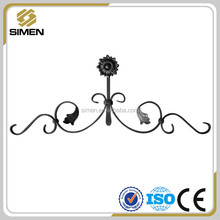 wrought iron rosettes and panels,ornamental cast iron