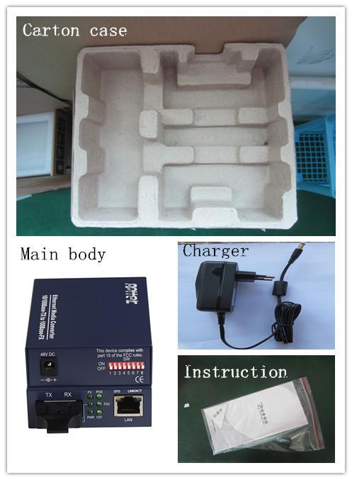 fiber to rj45 converter sfp media converter dual fiber sfp media converter