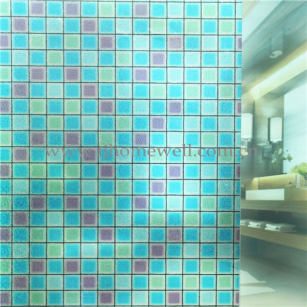 Decals on glasses M004 0.35MM 3D Sun control window film Electrostatic glass film