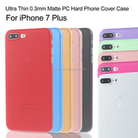 Ultra Thin Matte Hard Back Phone Shell Case Cover For Apple iPhone 7 Plus, For iPhone 7 Plus PP Case