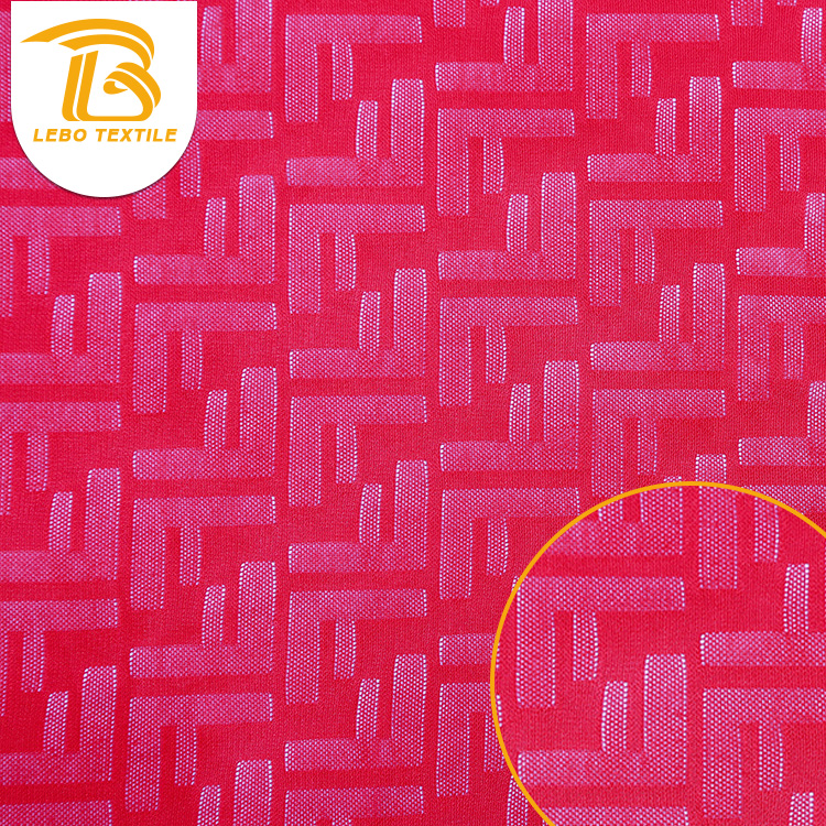 Lady Red stretch warp knit mesh fabric for apparel clothing Underwear
