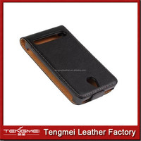 PU Leather Magnetic flip case FOR Sony Xperia E1 experia,cover for sony