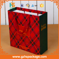 HOT SALE customized paper shopping bag/personalized gift bag in Guangzhou