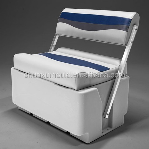 Pontoon Boat plastic seat by rotational molding , Customize New Mould