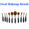 Oval Makeup Brush, Cosmetic Foundation Beauty Makeup Brush Tools