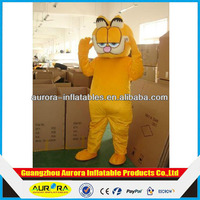 Garfield Costume funny mascot costumes for adults