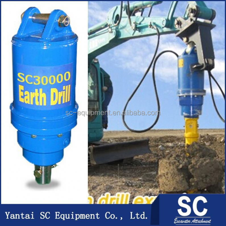 Garden digging tool earth auger sc25000 for 15t 22t for Gardening tools jakarta