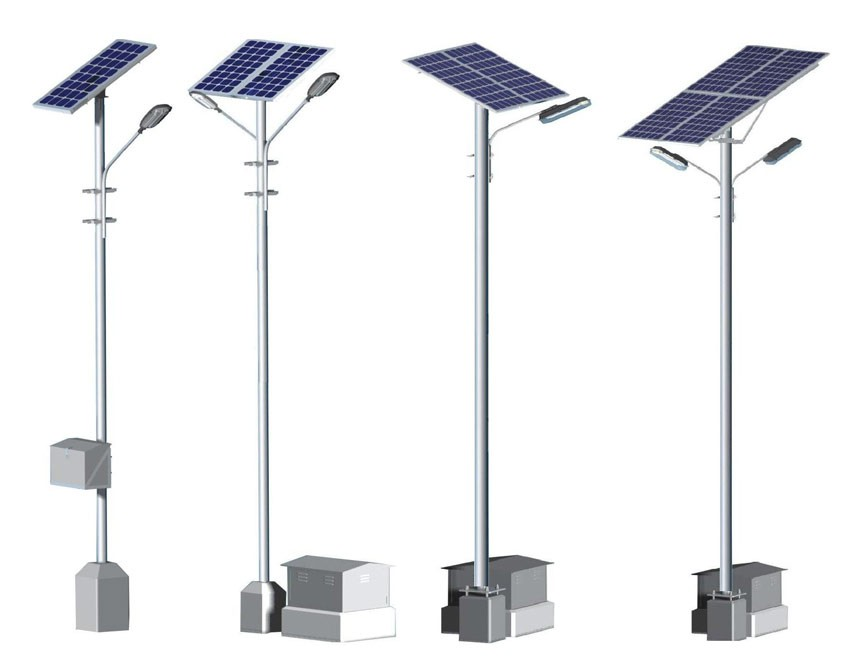 SR-SSL-0428 IP65 waterproof Hot sale high bright solar led street light