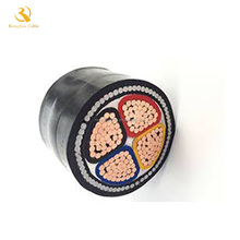 Power and signal cable 0.6/1 kV XLPE insulated PVC sheathed with concentric protective Cu conductor N2XCY cable