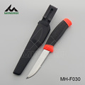 Fishing knife with rubber handle