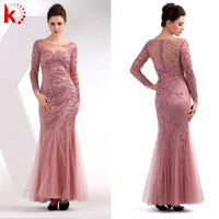 Arabic Evening Dress Long Sleeve Latest Wedding Gown Designs Mother And Daughter Dress Design