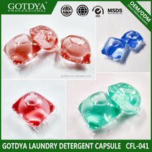 2017 new product OEM laundry detergent capsule