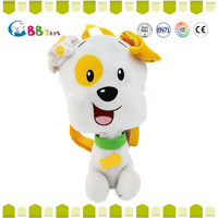 2016 China four colors fluffy dogs stuffed animals toys for kids