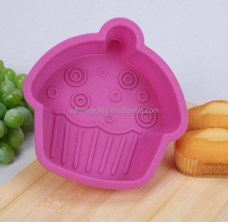 pinky house shape silicone cake mold muffin cups cake pan ice chocolate mold