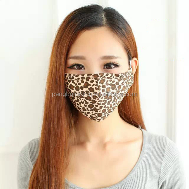 Autumn and winter classical plaid cotton masks double warm dust masks for adult men and women
