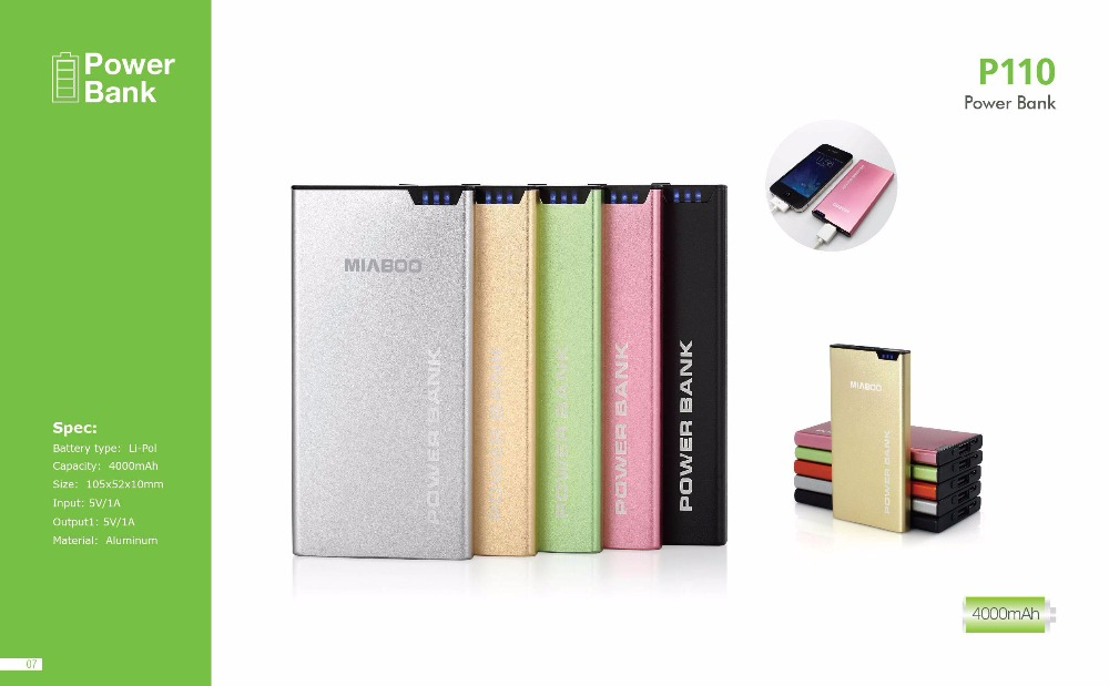 Modern Classic Silver Get On Power Bank For Giveaway
