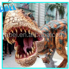 Battery powered mini playground realistic dinosaur costume,dinosaur toy