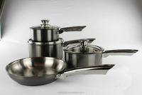 PVD coating cookware with hollow handle