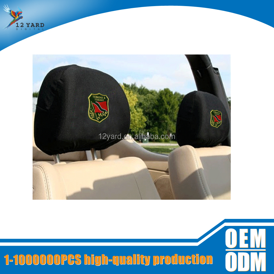 Fcar decoration auto accessory headrest cover back seat car cover