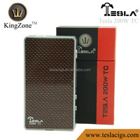 Hot New Products for 2015 electronic cigarette price tesla 200W TC Box Mod PK DNA 200 Watt Box Mod