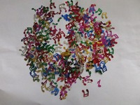 Metallic PVC Musical Notes Wedding Confetti for party decoration