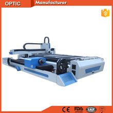 Metal sheets tubes pipes cutting 500w fiber laser cutter machine