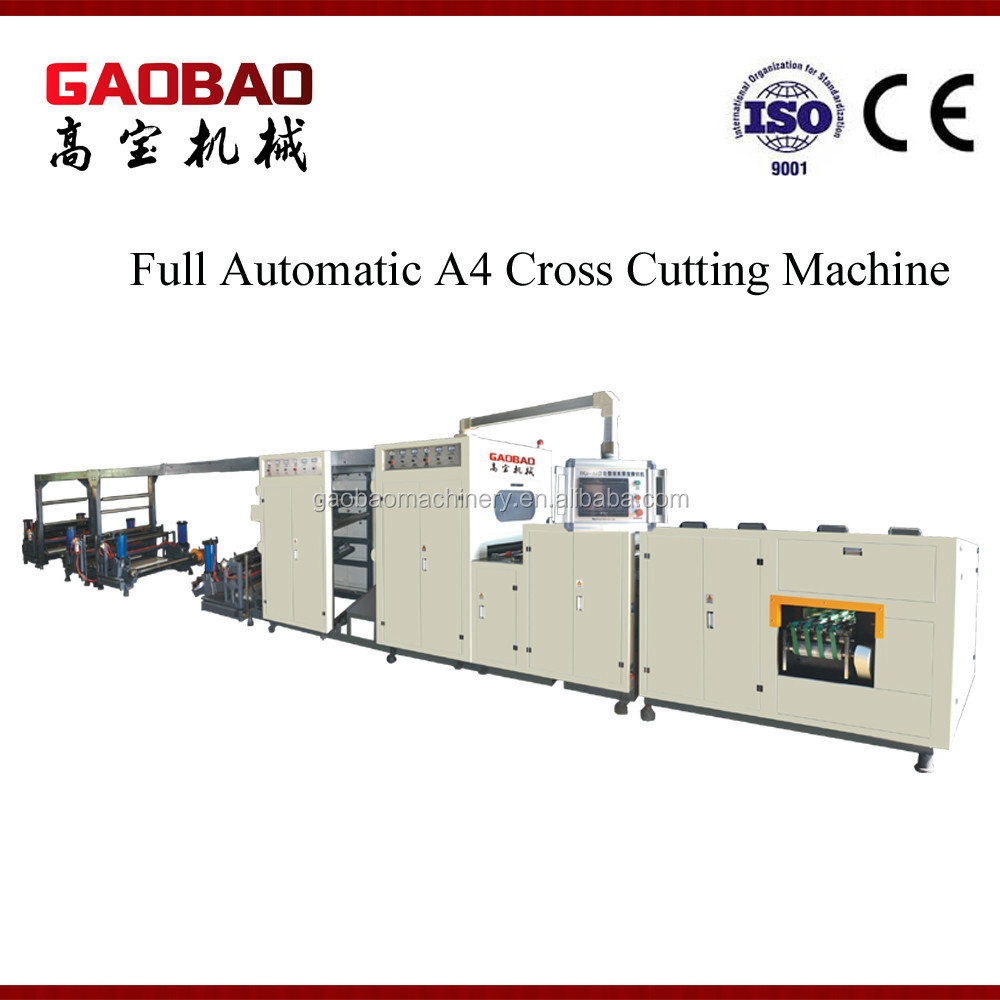 Professional A4 Paper Cutting Machine with Packaging