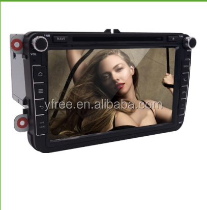 for vw golf 5 car radio gps dvd navigation android player auto central multimedia 2 double din stereo audio touch screen system