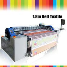 High-Speed Rotational Belt Printer with double DX7 print head