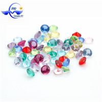 Best Selling Cheap 5mm Floating Locket Charms Fashion Round Wholesale Birthstone Charms For Glass Memory Locket