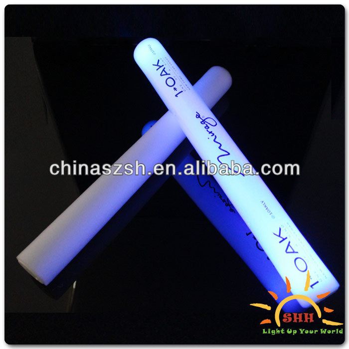 2014 16'' Super Bright LED Flashing Sticks LED Foam Stick Multicolor Wholesale Concert Glow Sticks in Bulk