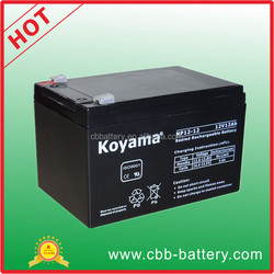 12V 12AH SMF lead acid dry cell battery NP12-12