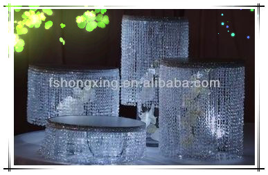 C-10 Elegant crystal cake holder use for wedding&party &restaurant made in China