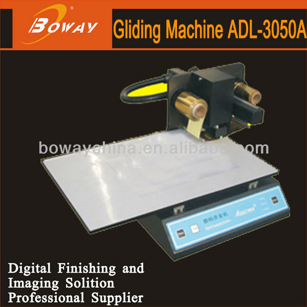 Thickness less than 30mm length up to 150mm PVC card ADL 3050a digital foil printer