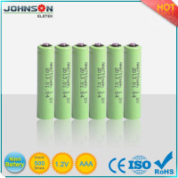 NIMH 1.2v AAA 900mah rechargeable battery