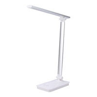 Cordless Modern American Style Desk Lamp Touch Switch Dimmable Study Reading Bedside LED Light Table Lamp With USB Port