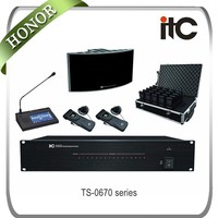 ITC Infrared Wireless audio conference simultaneous interpreters system