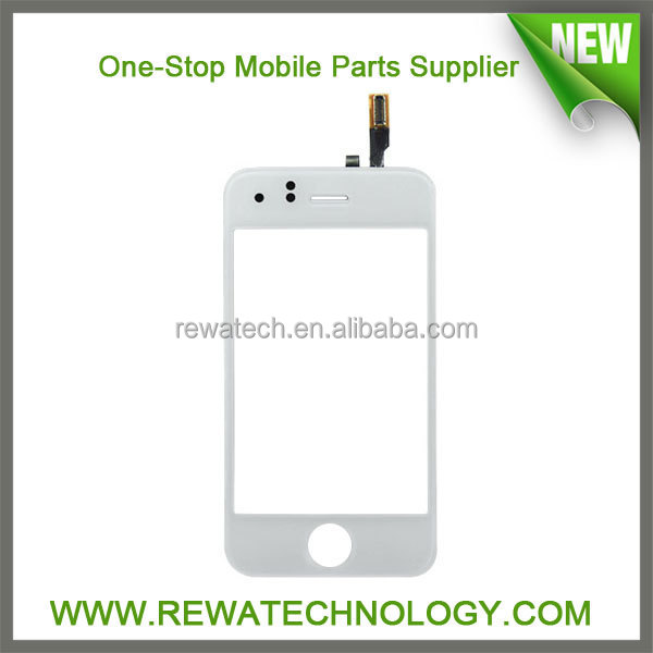 Touchscreen for iPhone3g/3gs/4g Digitizer Replacement -White Glass