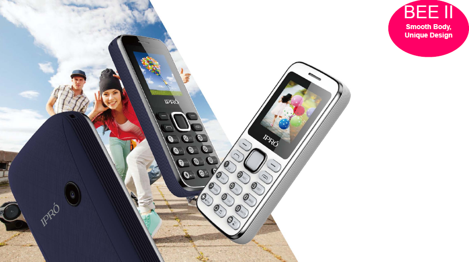 New design IPRO Bee II 1.44 inch quad band dual sim feature phone wholesale moblie 2g with battery of 700 mAh
