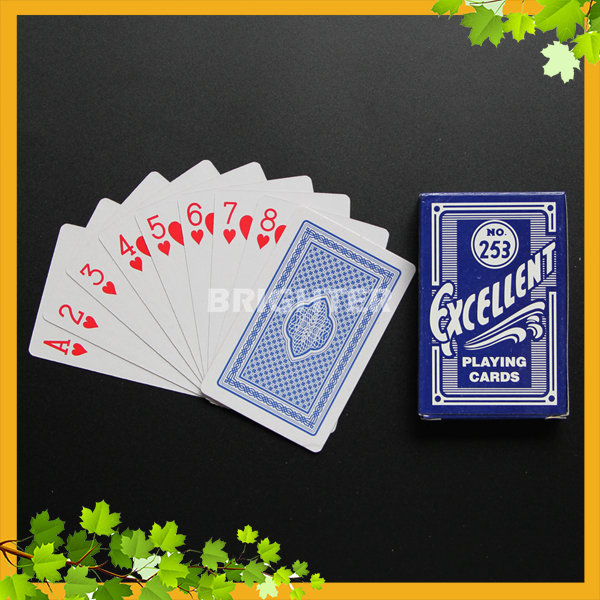 012 Casino Custom Printed 300gsm Thickness Trading Cards