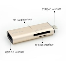 metal type c adapter usb 3.0 otg high reading speed flash drives