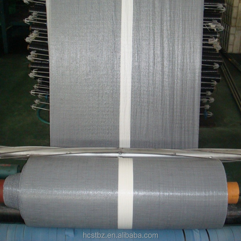 Lamination Flat PP woven sheet / fabric roll for covering