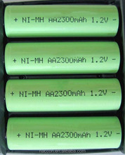 High Quality AAA Rechargeable Battery 800mAh 1.2V NiMh Battery