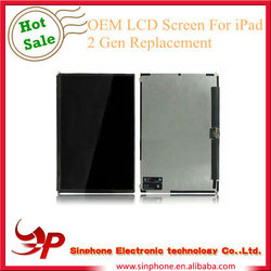 Hot selling High quality For Apple iPad 2 LCD Screen from shenzhen factory