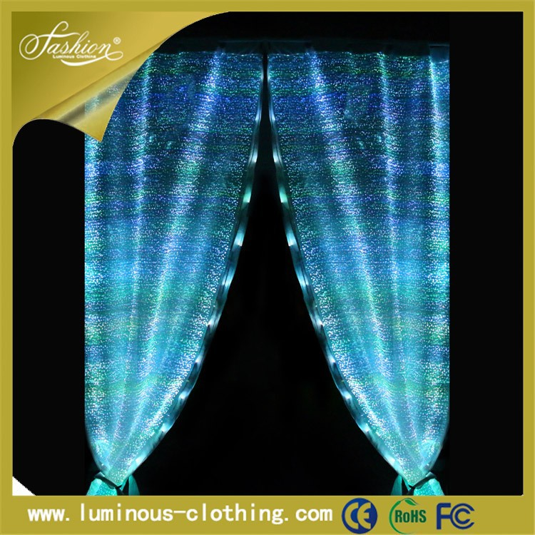 luminous textile black lace curtains diy electric curtain