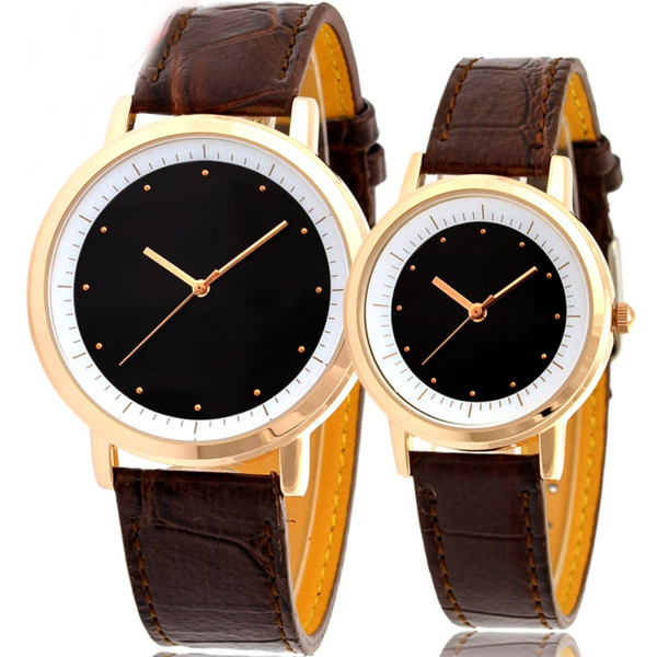 New customized oem/odm china imported pair watches for lovers