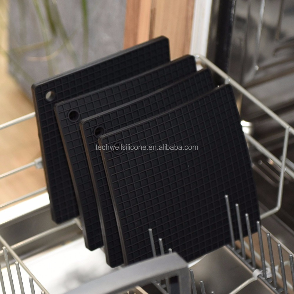 Heat Resist Multi-Function Silicone Table Mat Pot Holder