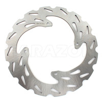 240mm Front Stainless Steel Solid Brake Disc Rotor For Honda XR250R CR125R XLR250