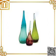 Contemporary hand blown murano glass vase with high quality