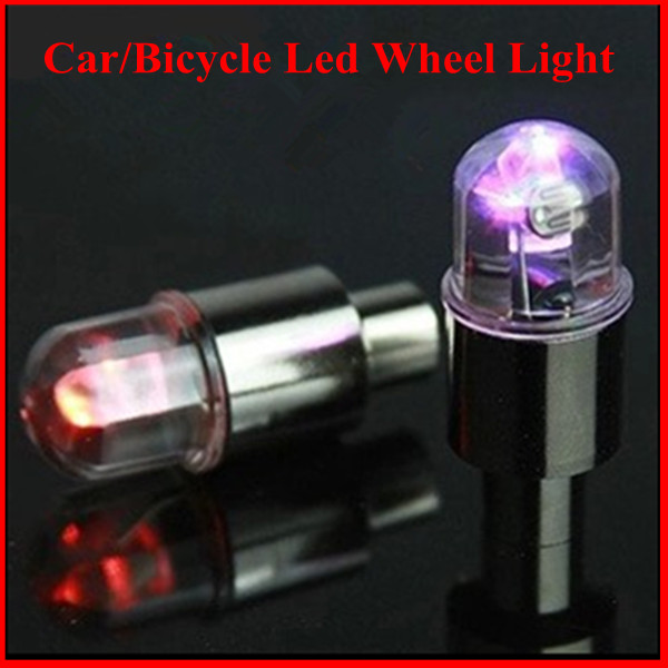 Cheap price colorful With battery car led light car wheel led light